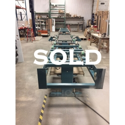 Norfield Time Fold Series exterior door assembly line