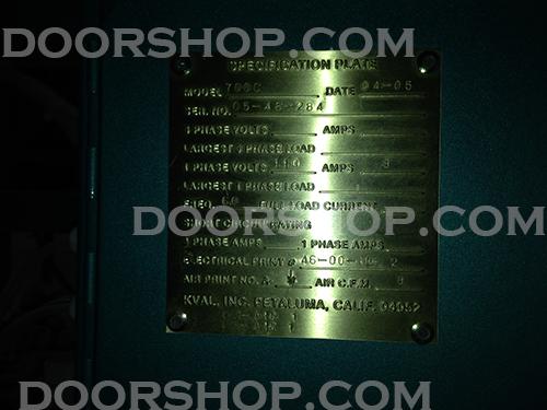 kval door machine