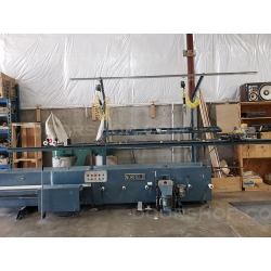 Norfield Magnum Prehung Door Machine with Dust Collector and Delta Sander