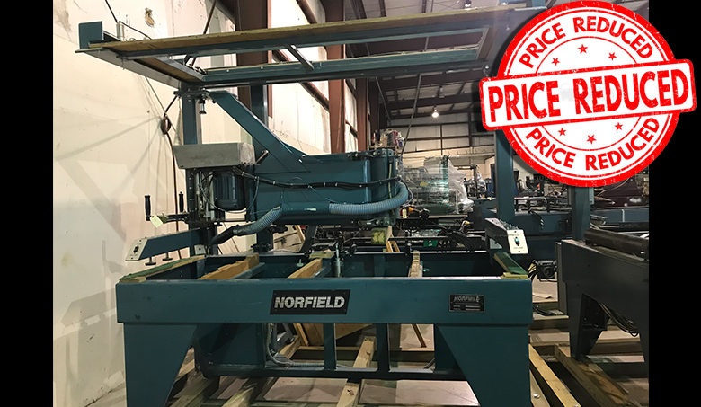 Machinery at Reduced Priced